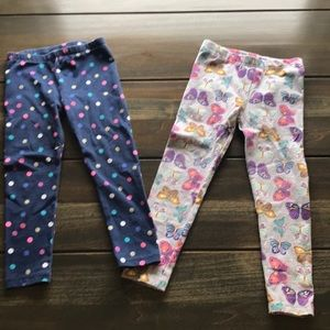 Set of 2-Toddler Girls 4T Leggings